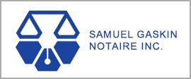 Samuel Gaskin notaire