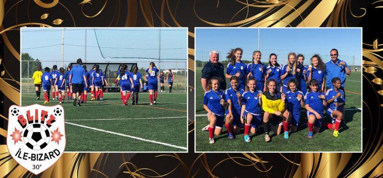 blitz u14, medaille d'or, asib, soccer