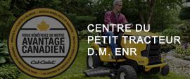Centre du tracteur