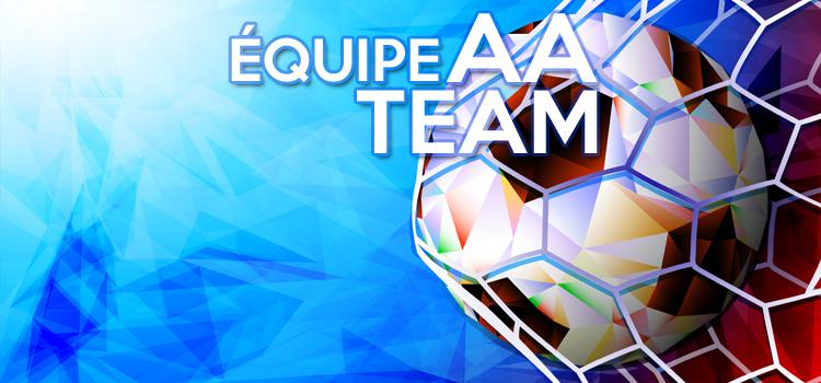 recrutement soccer, AA, asib